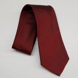 Brooks Brothers Maroon Burgundy English Silk Tie